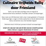Culinaire Vrijheidsrally Friesland
