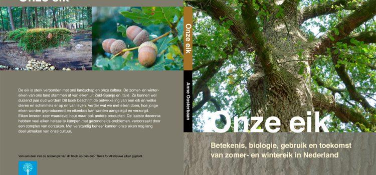 Boek 'Onze Eik' van Anne Oosterbaan vanaf 27 november in de winkel