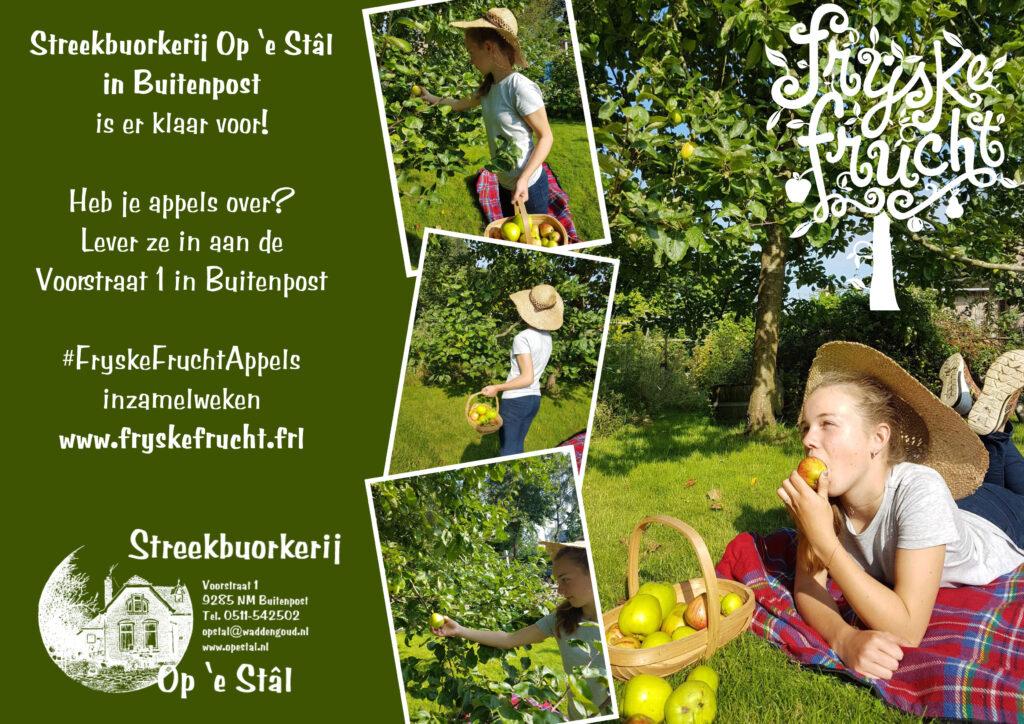 Fryske Frucht appels inzamelen