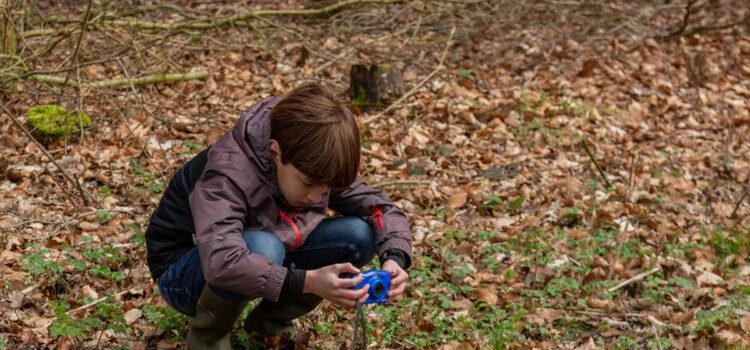 Kinderen in de Wâlden leren natuur fotograferen met KidzKlix