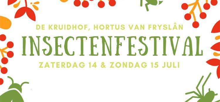 Insectenfestival in de hortus van Fryslân