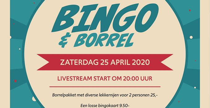 Borrel & Bingo livestream