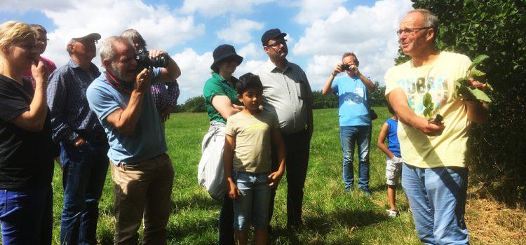 Landschapsexcursie van Brommels! in teken van herdenking Jan de Boer