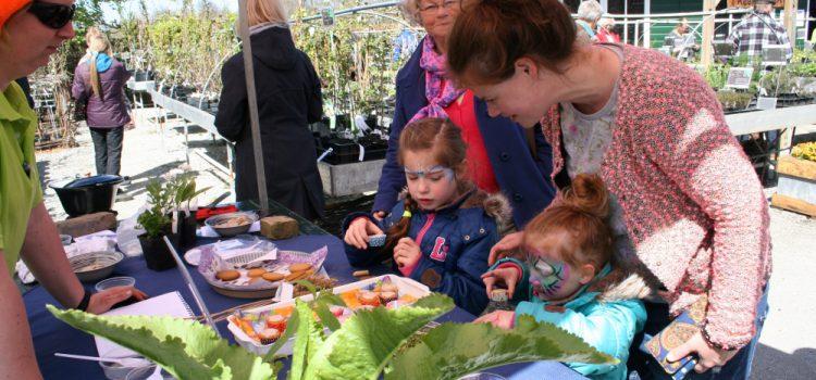 Feestelijke Koningsmarkt bij De Kruidhof hortus van Fryslân