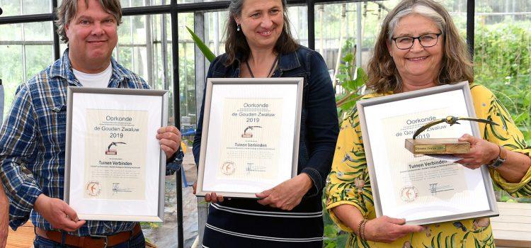 Gouden Zwaluw voor Tuinen Verbinden project